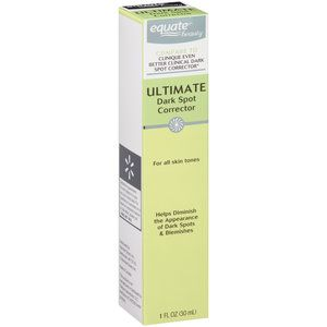 Equate Beauty Ultimate Dark Spot Corrector, 1 Oz Nastassja Skin NEC-BTC Brightening Treatment Cream