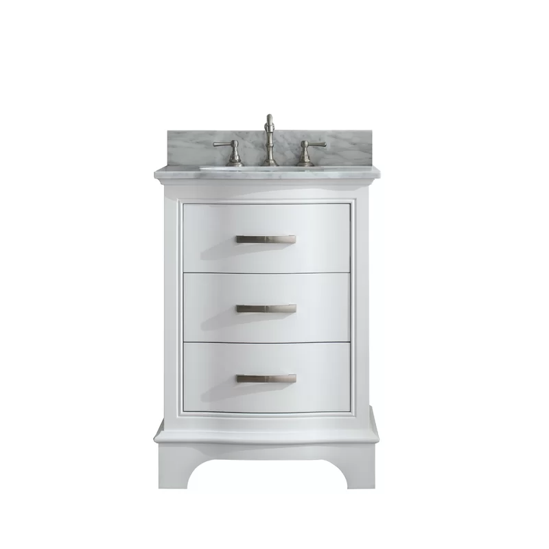 Andover Mills Goleta 24 Single Bathroom Vanity Set Reviews Wayfair Ca In 2020 Single Bathroom Vanity Vanity Set Vanity