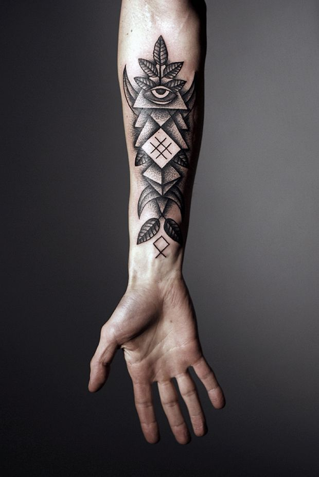167878ee8cadd Innovative Geometric Tattoo Inspiration | Kris. Don't get a tattoo. |  Forearm tattoo men, Tattoo designs men, Forearm tattoo design