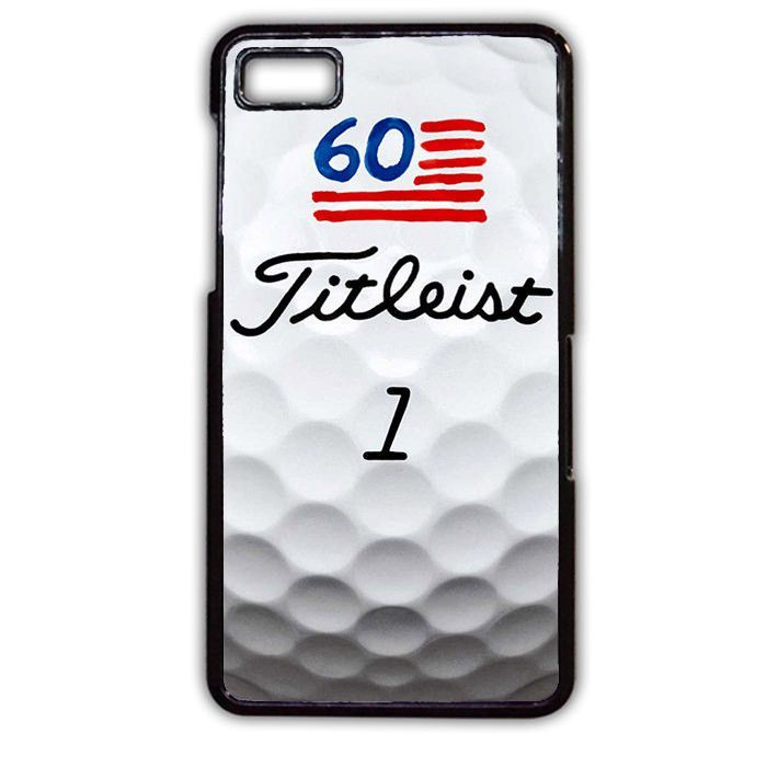 Titleist 1 Golf Ball TATUM-11279 Blackberry Phonecase Cover For Blackberry Q10, Blackberry Z10