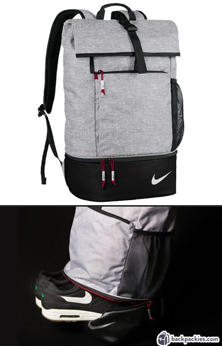 Nike backpack with shoe compartment - Work to Gym backpacks for men 62c9fab7800ed