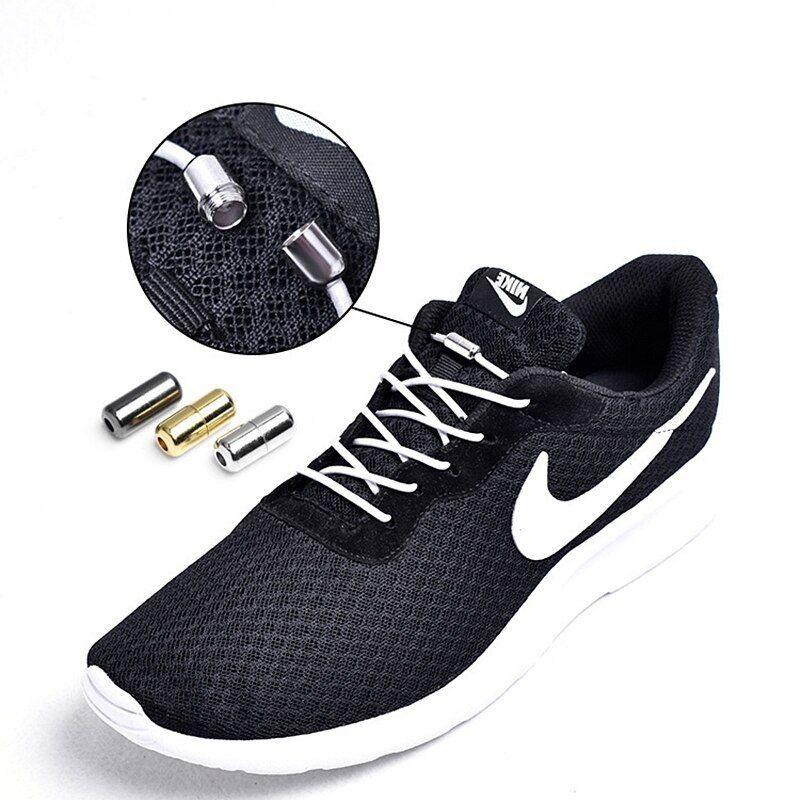 1Pair Shoelaces Free Tie Shoes Laces Strings Stretch Sports Elasticity Shoelaces