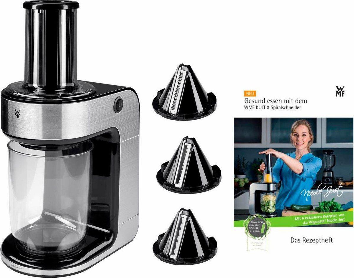 Spiralschneider Kult X 80 W Mit 3 Schneideeinsatzen Und Rezeptheft Spiralschneider Haushalt Und Kuchen Helfer