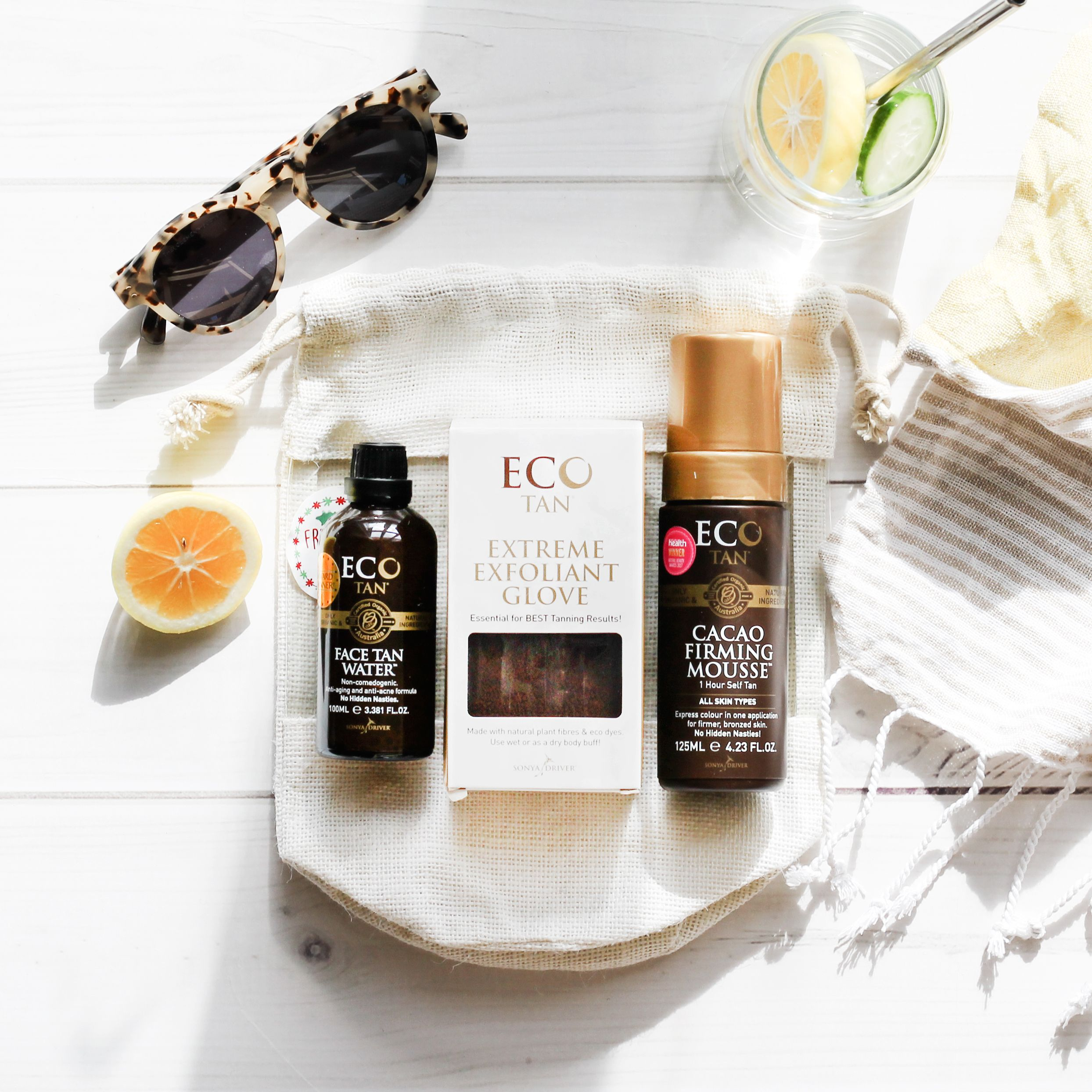 Eco Tan Gift Pack from Oh Natural, online natural, organic