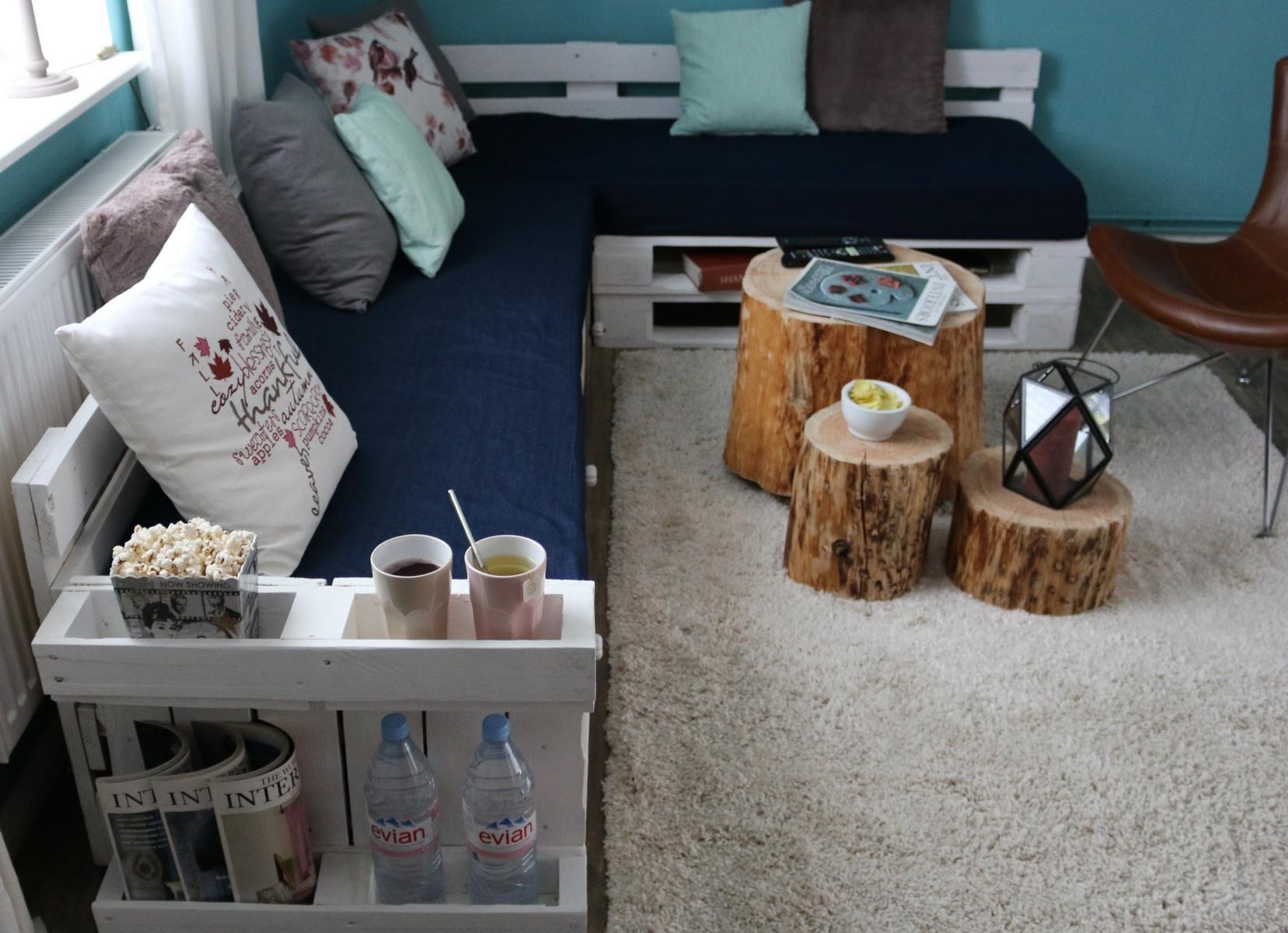 Paletten Couch Im Wohnzimmer