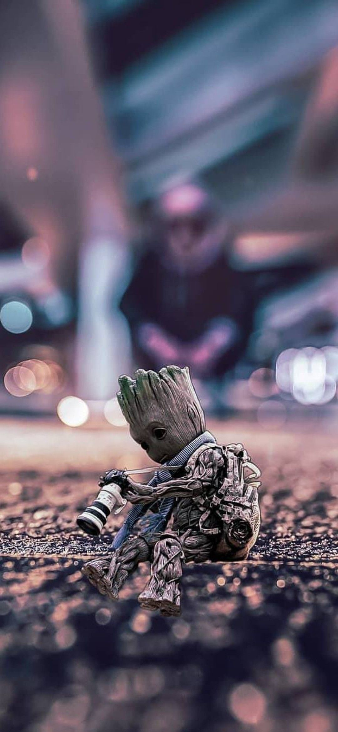 Pin by Marie L. on baby groot in 2020 Phone wallpaper