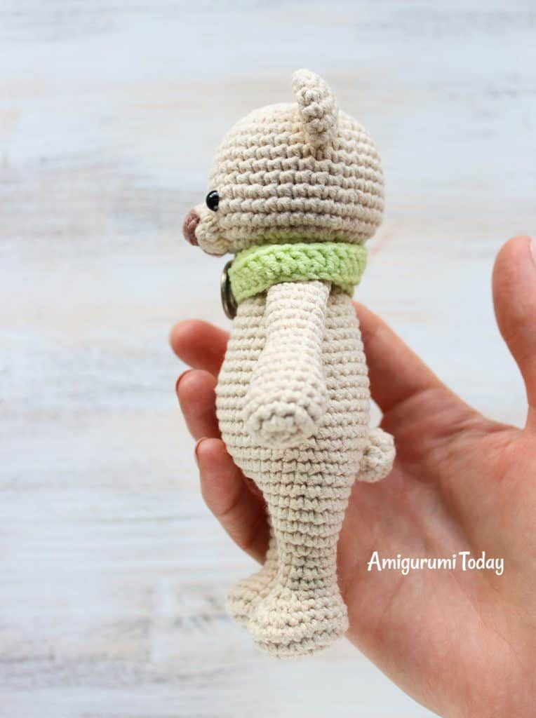 Christmas Cuddle Me Bear crochet pattern - Amigurumi Today | 1024x764