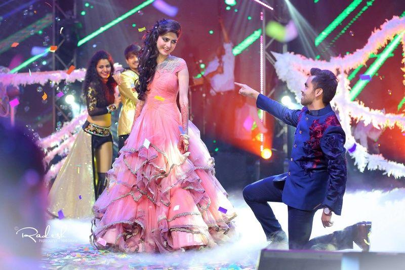 Neerus Avnish kumar grand wedding - Sangeeth - Soumya Radesh Weddart ...