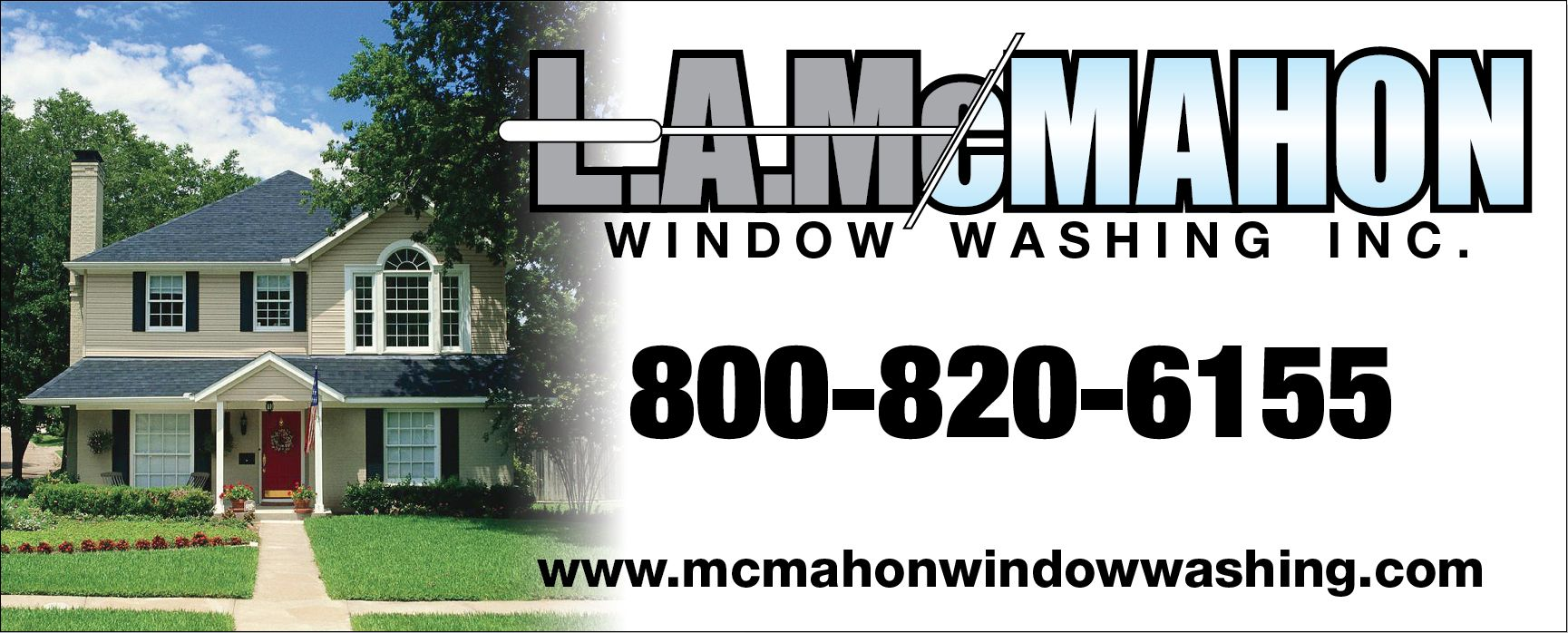 La Mcmahon Window Washing Gutter Cleaning 1 800 820 6155 Chicago Land Area Washing Windows Commercial Window Cleaning Window Cleaner