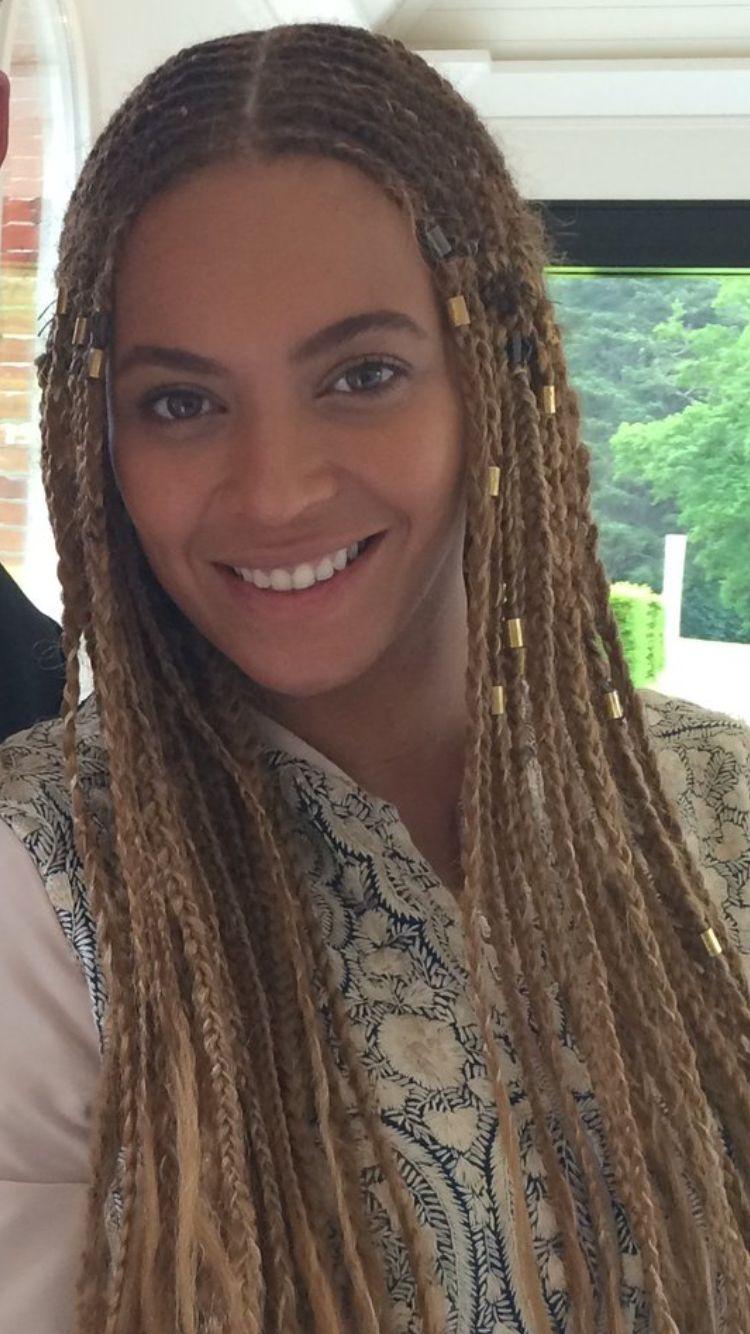 Beyonce At London England July 2016 Beyonce Braids Hair Styles Natural Hair Styles