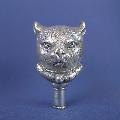 Amazing-Silver-Plated-Cat-Baby-Rattle | Baby rattle