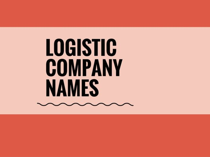 337 Best Logistic Company Names Ideas Small Business Company