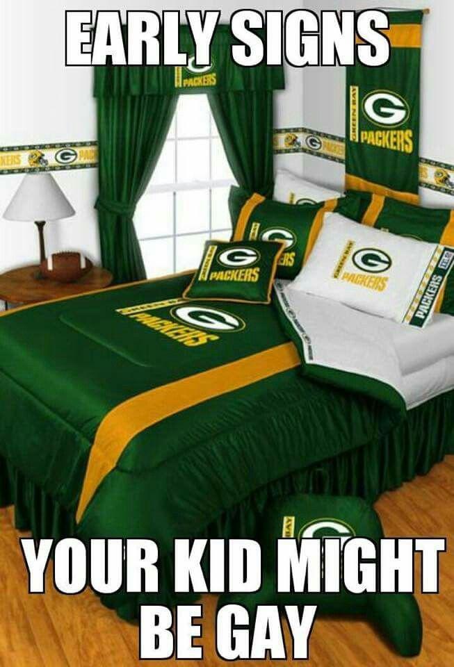 Green Bay Packers Bedroom, Green Bay Bedding Queen