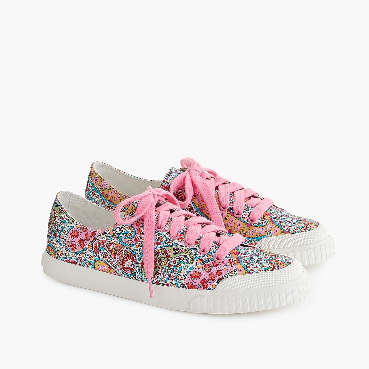 900681481c Tretorn Marley Canvas Sneakers In Liberty Floral Liberty Print
