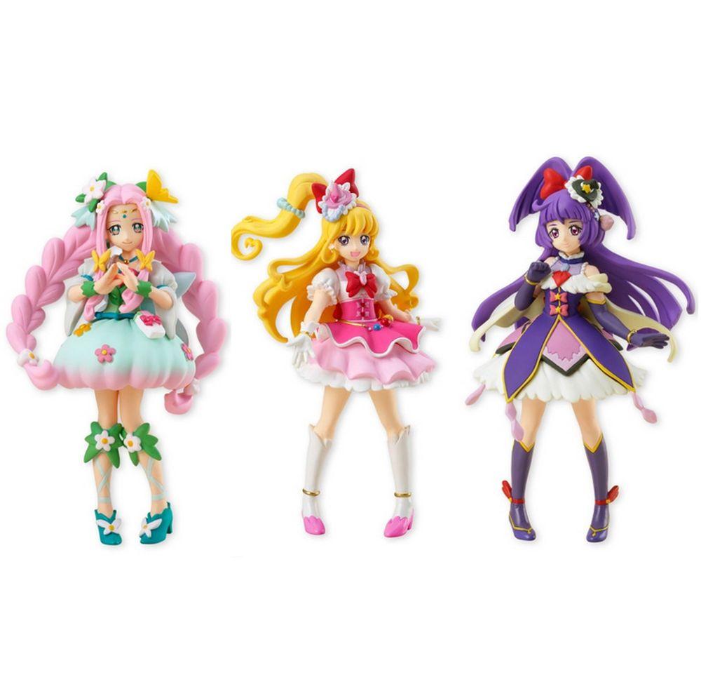 BANDAI Mahou Tsukai Pretty Cure Cutie Figure FIgure set of 2 MahoGirls PreCure