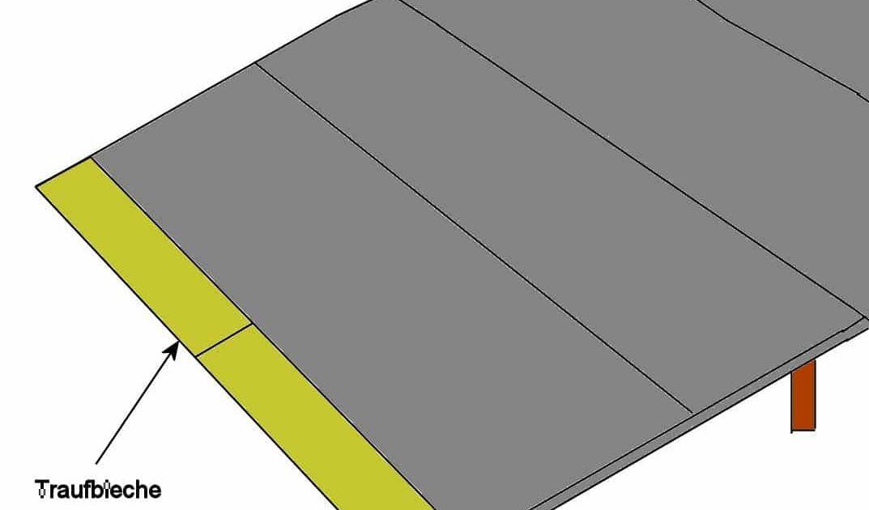 Dachpappe wird bei gartenhausern auch als haupteindeckung