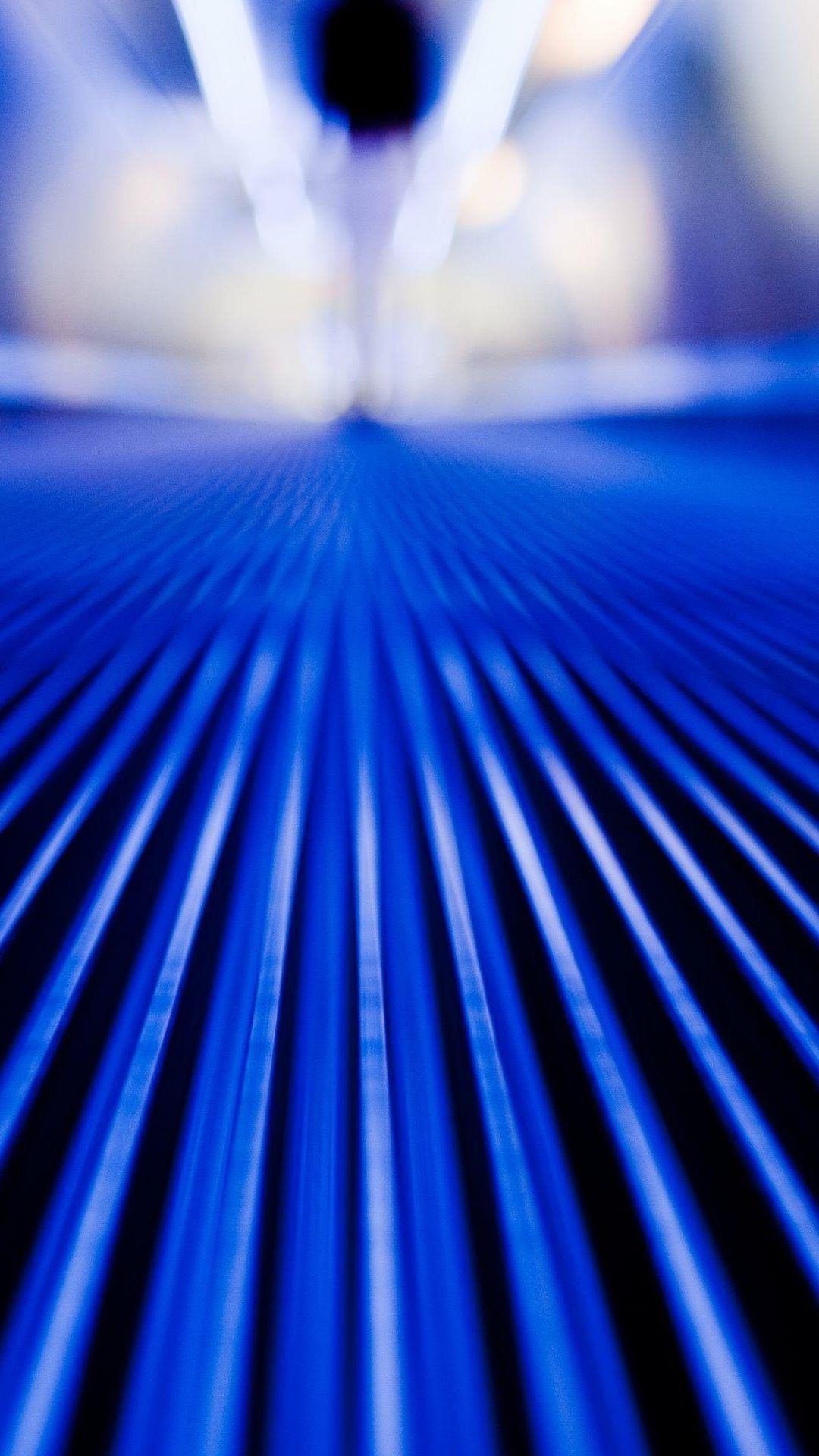 Moving Walkway Blue Stripes Close Up IPhone 6 Plus HD Wallpaper