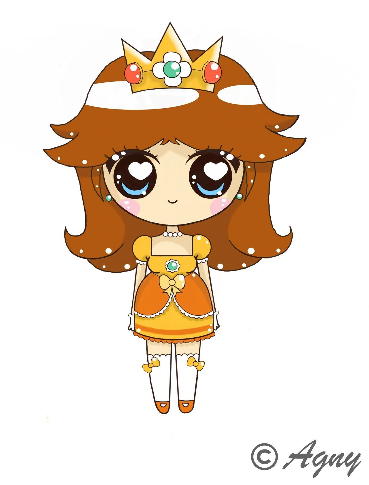 Daisy kawaii by on deviantart - Mario et luigi dessin anime ...