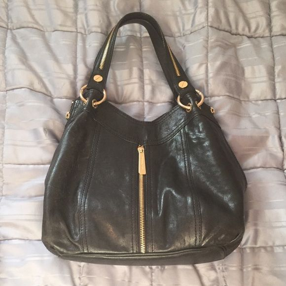 Michael Kors Moxley Handbag Beautiful Black Leather Mk Bag I Don T Have The