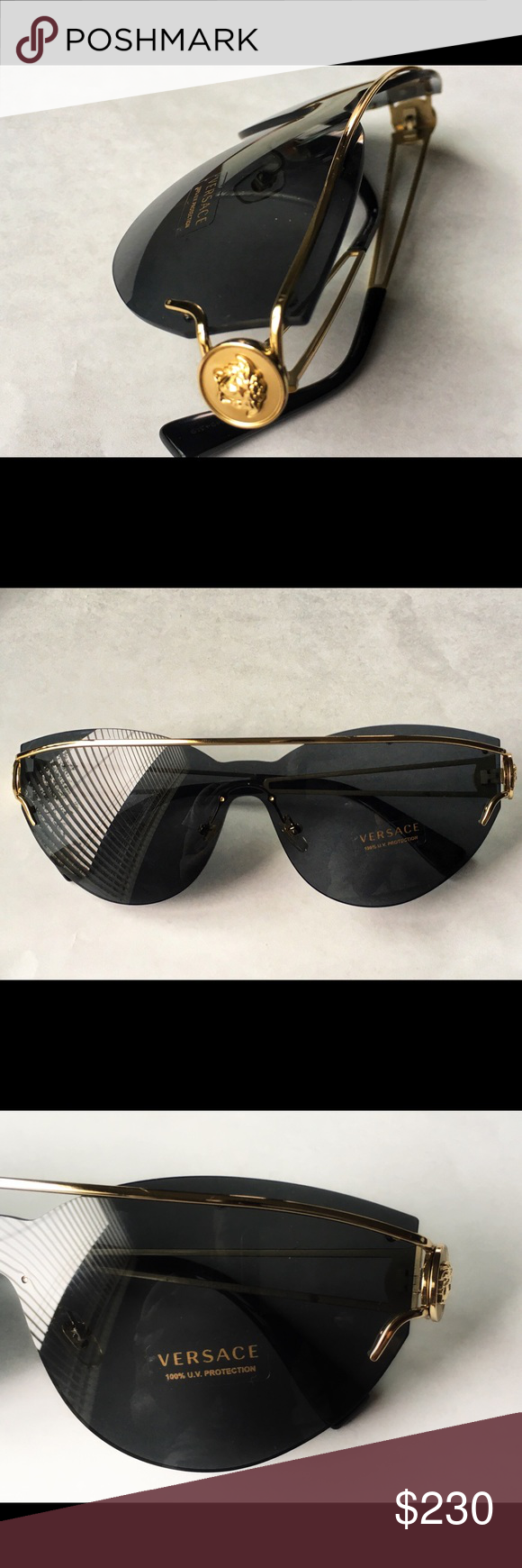 135c0662dc89 Versace Sunglasses Brand New Case and Cloth Included Versace Accessories  Sunglasses