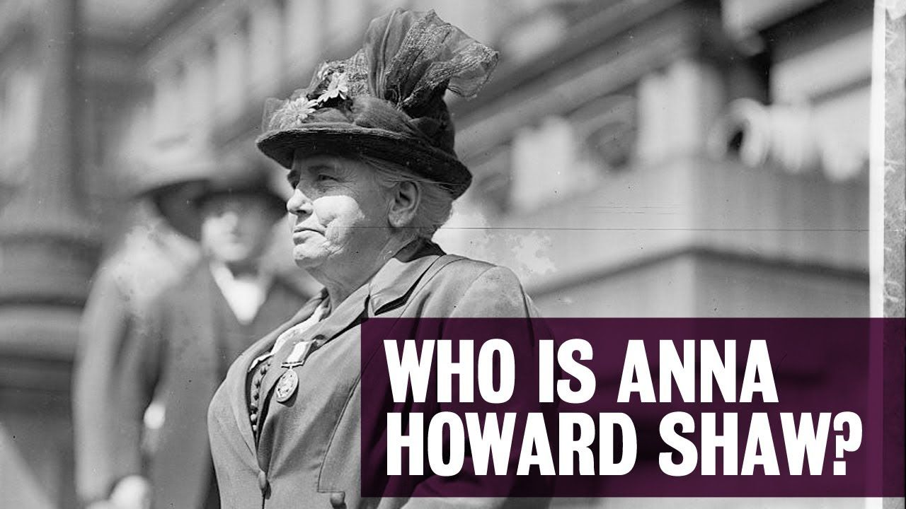 video-Albion College: Who Is Anna Howard Shaw?