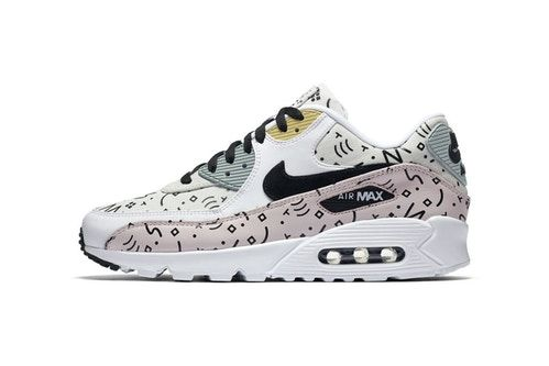 Nike Air Max 90 Premium Sports Graphics on New Pattern Pack   Shoes ... a5f66f7ccdab