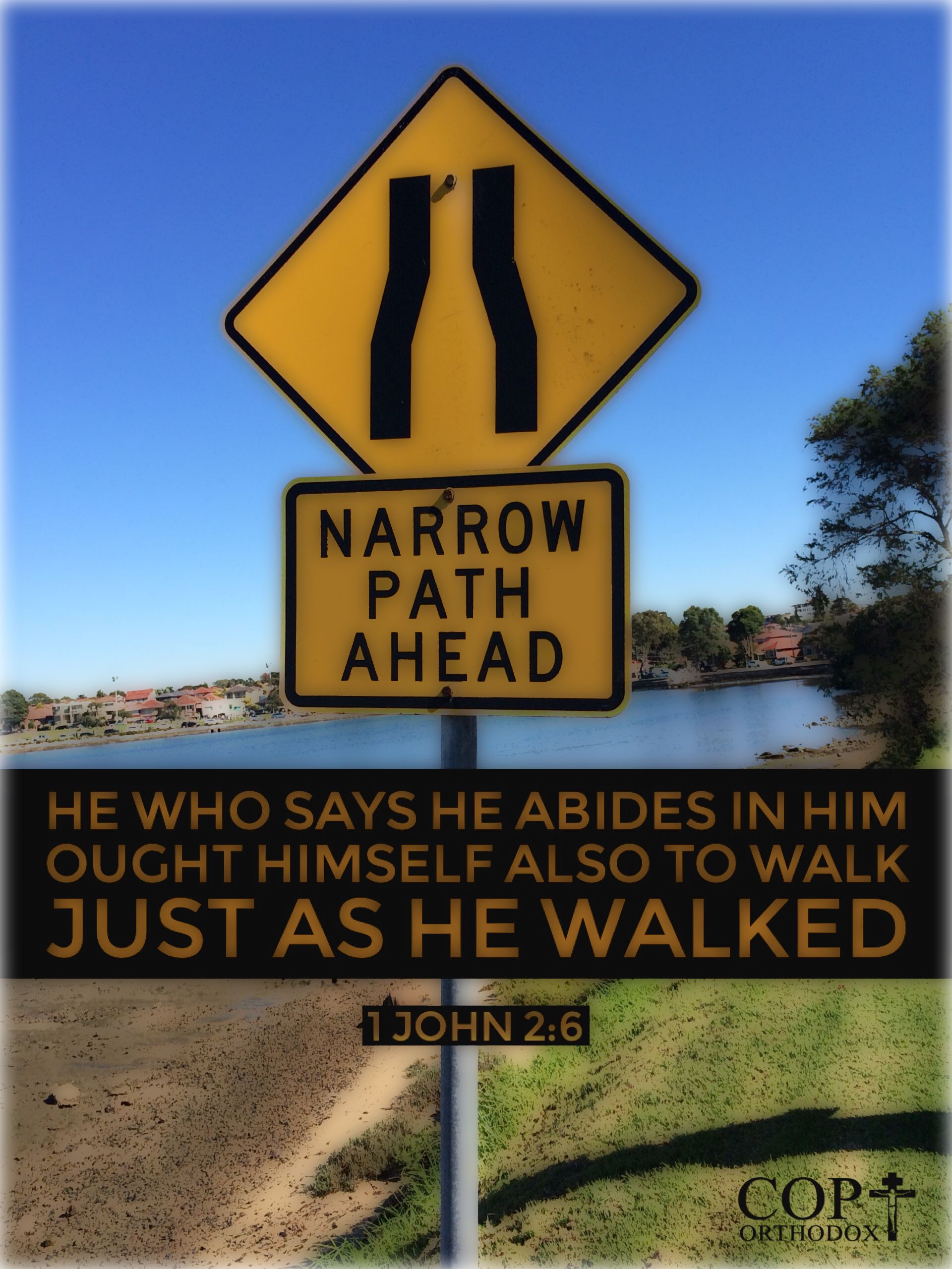 1john 2 6 he who says he abides in him ought himself also to walk