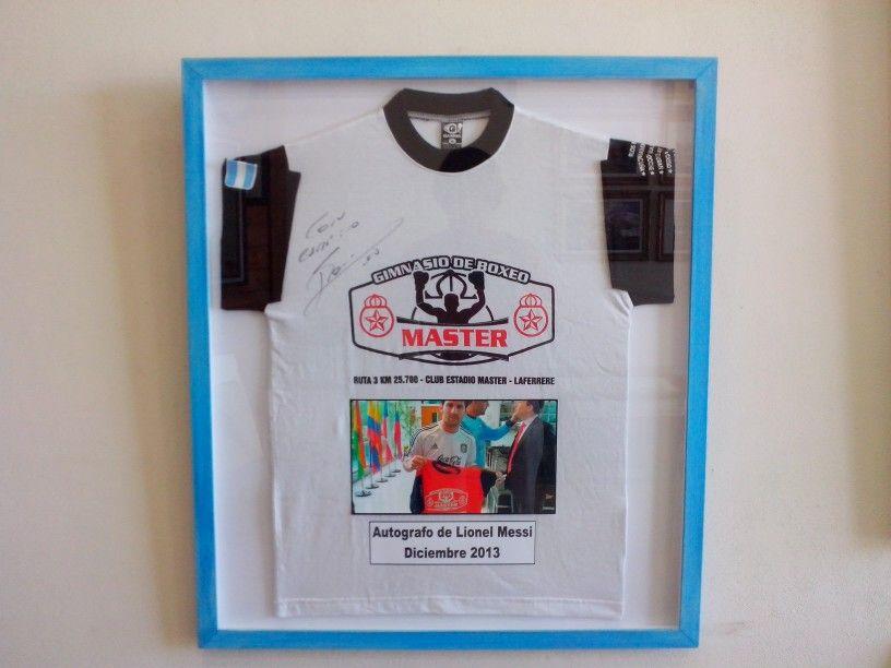 Enmarcado de Camiseta firmada | Marcos | Pinterest | Marcos y Camisetas