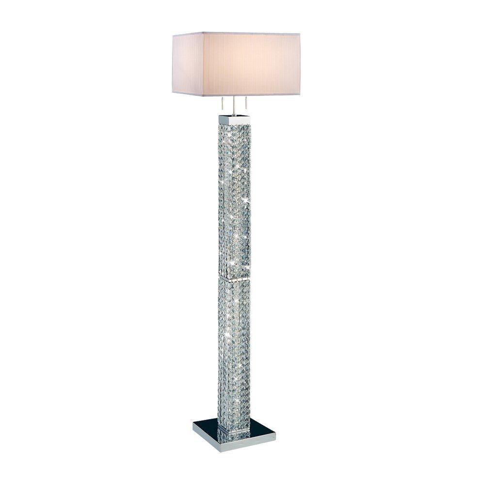 3 Light Floor Lamp Impressive Tobias Collection 3 Light Floor Lamp  Bedroom  Pinterest  Floor Inspiration Design