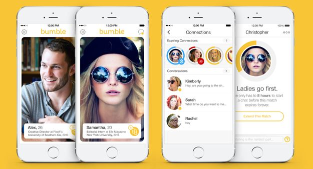 Bumble Dating App , best for Delhiites.