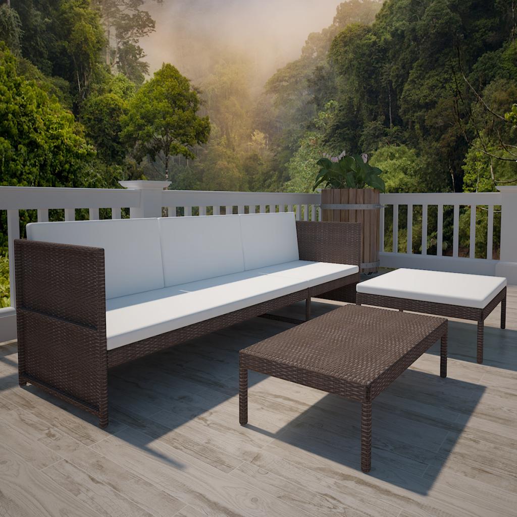 Nice The best Polyrattan sofa ideas on Pinterest Rattan ecksofa Braunes haus au en and Decking