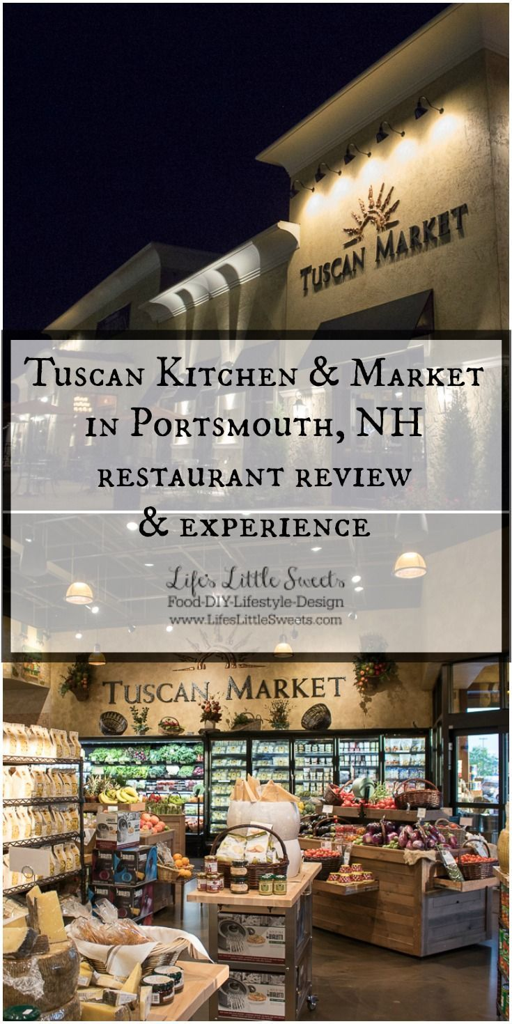Tuscan Kitchen U0026 Market In Portsmouth, NH: A Restaurant Review And  Experience. Images