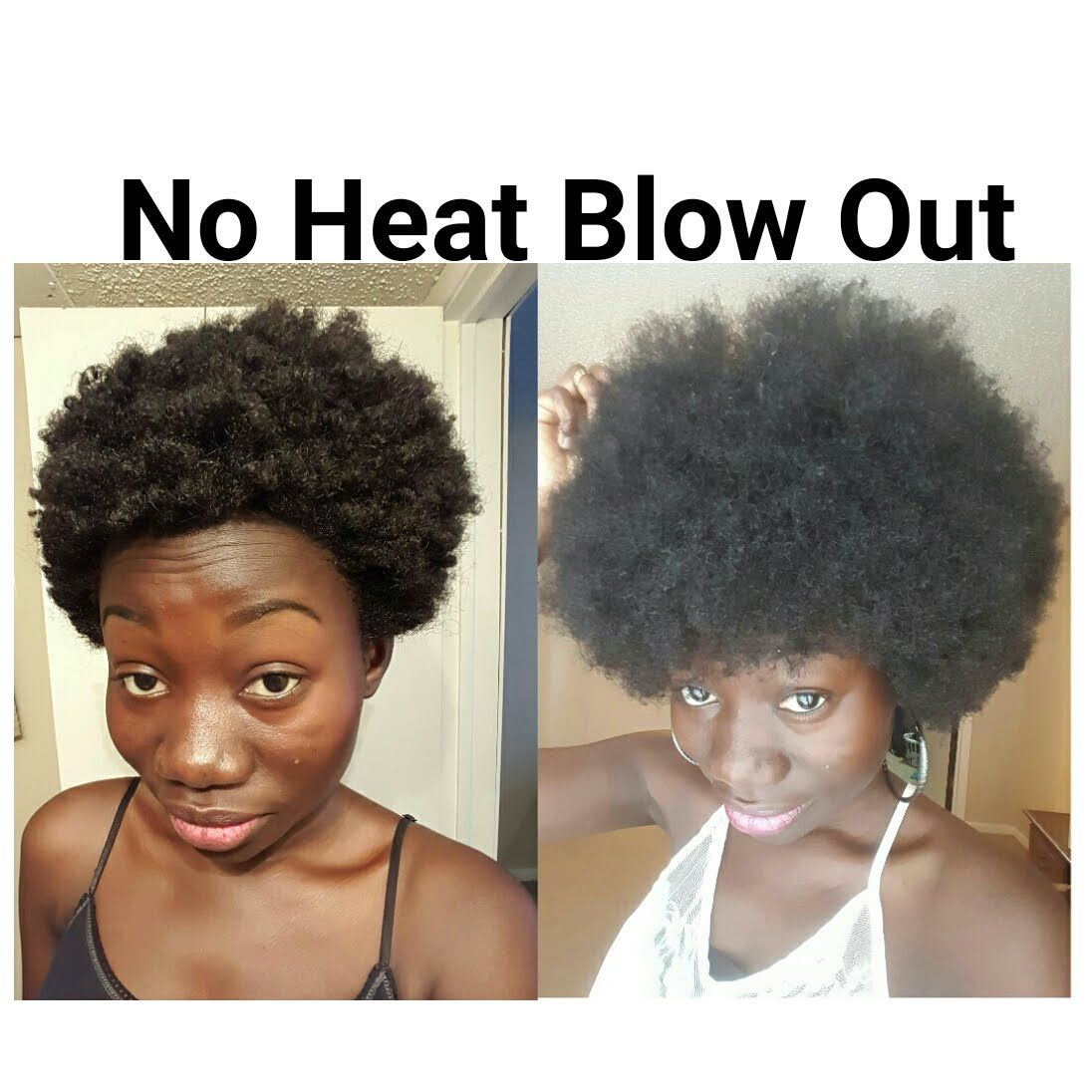 Heatless Blow Out: How TO Stretch Natural Hair Without