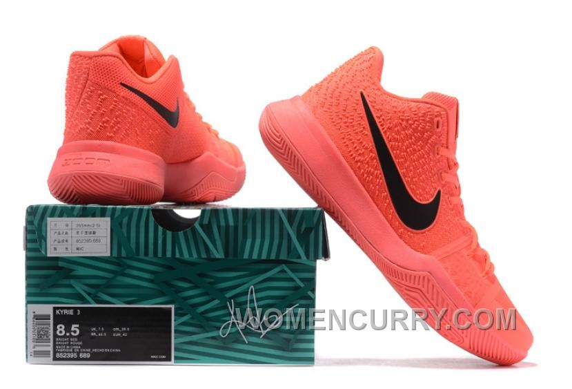 detailed look dabdd 06ae4 Nike Kyrie 3 Mens BasketBall Shoes All Orange Super Deals FMajTG, Price    86.89 - Women Stephen Curry Shoes Online