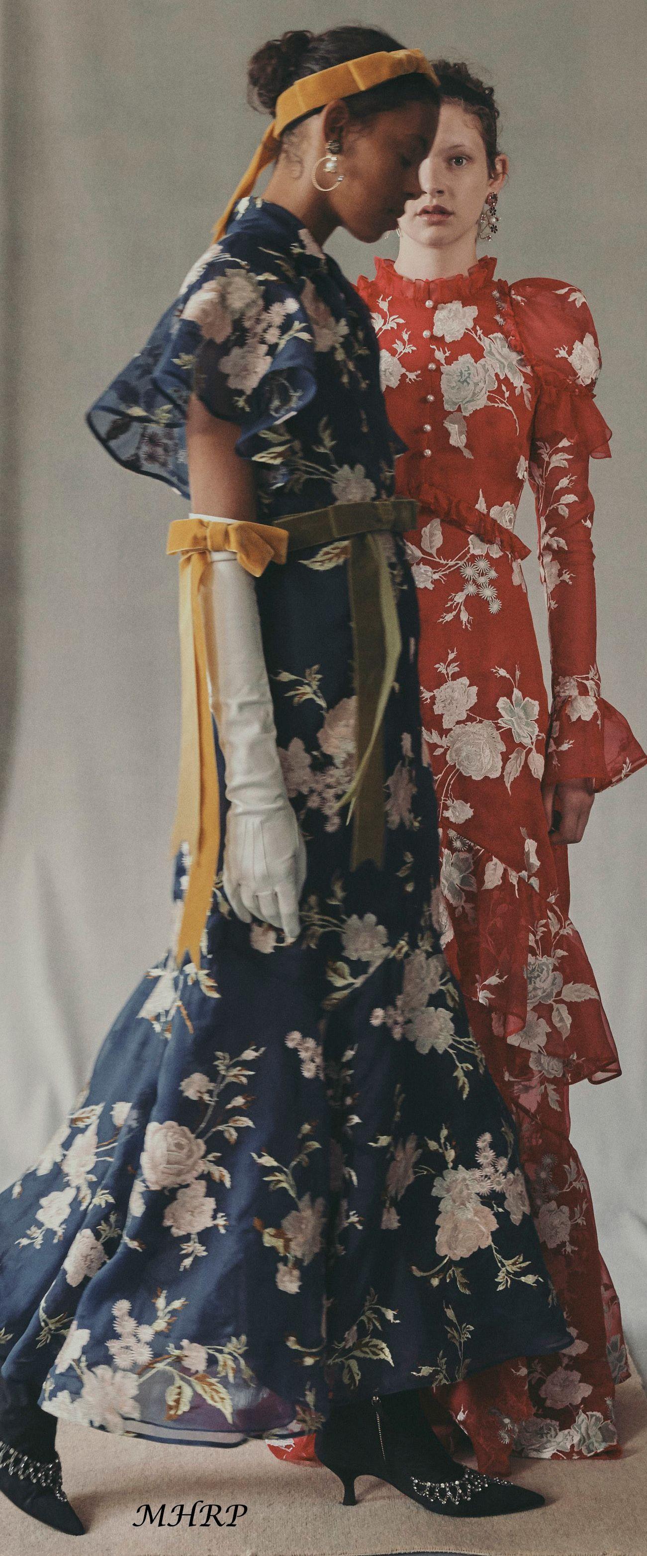erdem-vogue-resort-2019 | Fashion photography: color ...