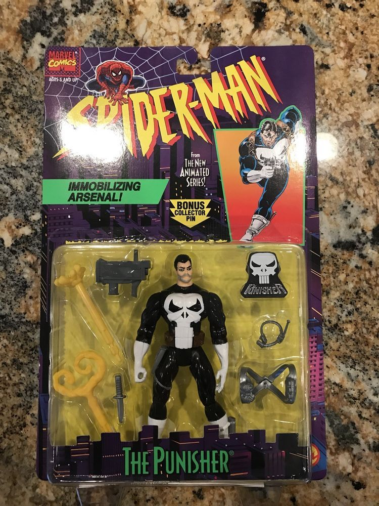 Biz Spiderman Action Figured Animated Punisher Toy The Series rEQoWdCxBe