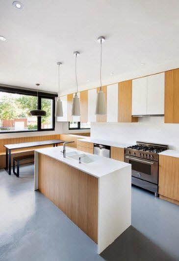 40 diseños de modernas islas de cocina, ideas con fotos | Diseño de ...