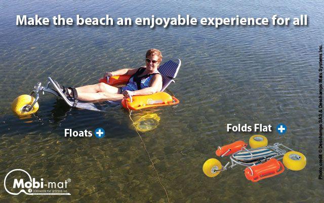 Pin On Mobi Chair The Original Floating Beach Wheelchair