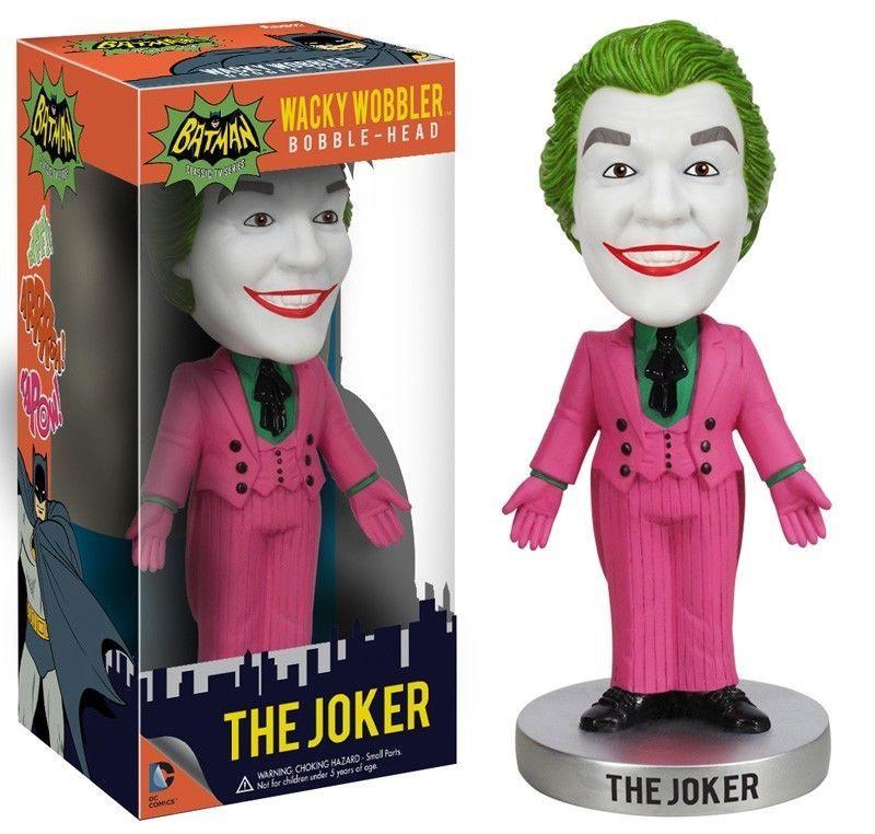 """Funko DC HEROES 1966 CATWOMAN from /""""Batman/"""" 6/"""" WACKY WOBBLER BOBBLEHEAD MINT!"""