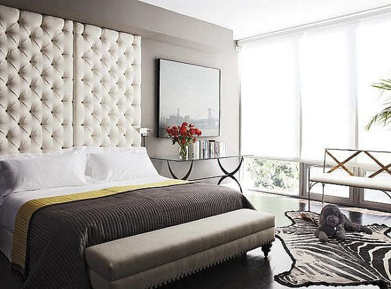Custom Tufted Headboard Panel Custom Made In Your Color