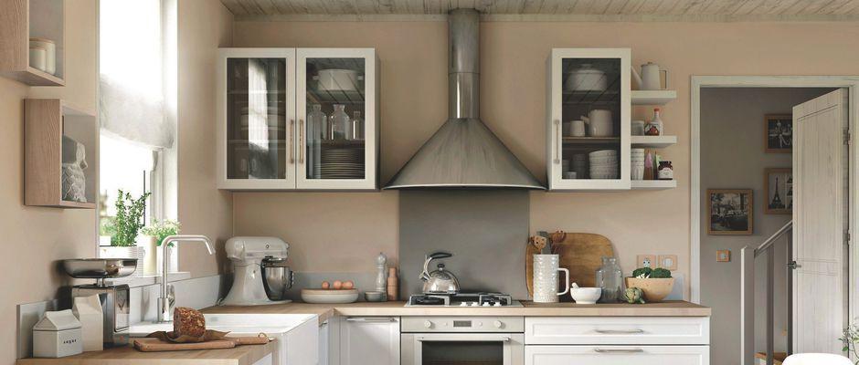 Peindre le carrelage d 39 une cuisine comment faire d co - Comment poser une credence de cuisine ...