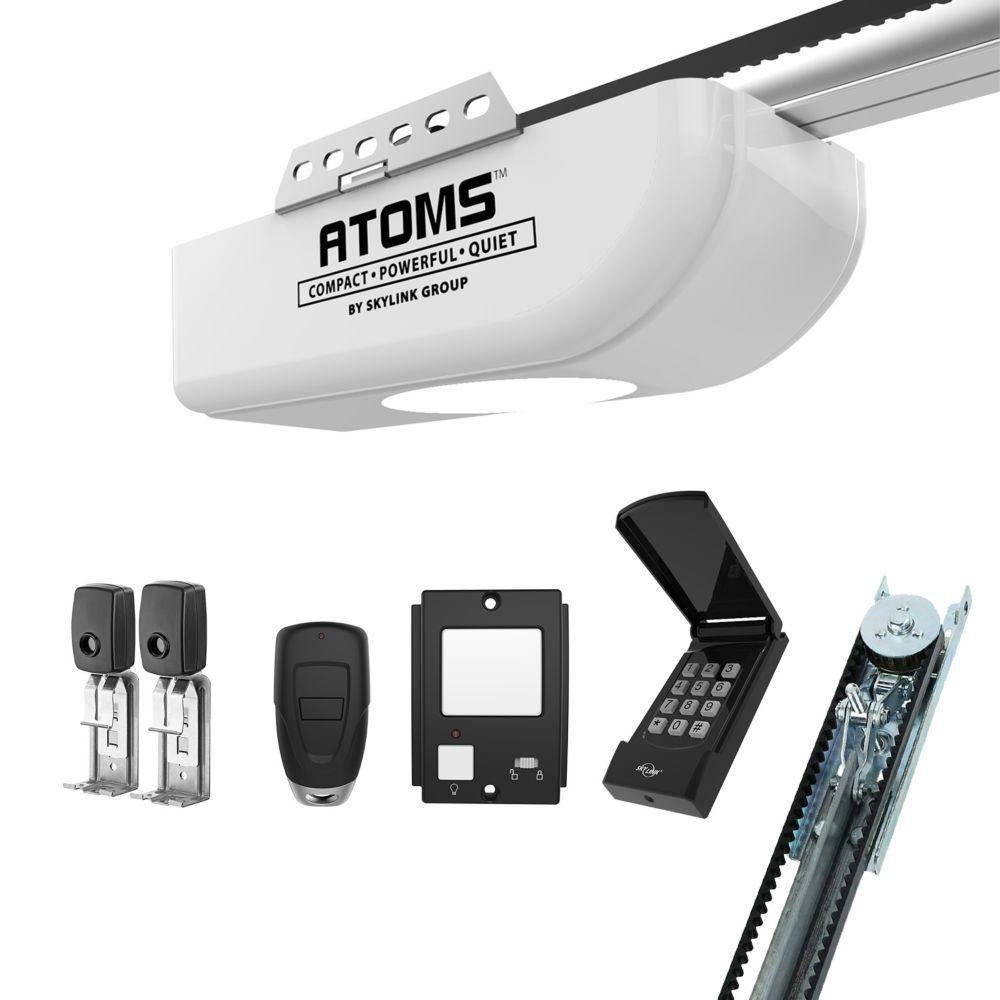 Atoms At 1612bk 1 2 Hpf Belt Drive Garage Door Opener Garage