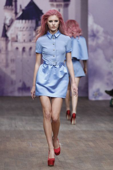 Ida Sjostedt: Mercedes-Benz Stockholm Fashion Week S/S 2013