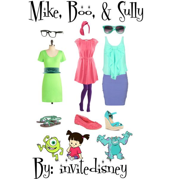 Mike, Boo, Sully | Beauty | Pinterest | Sully, Stretch dress and ...