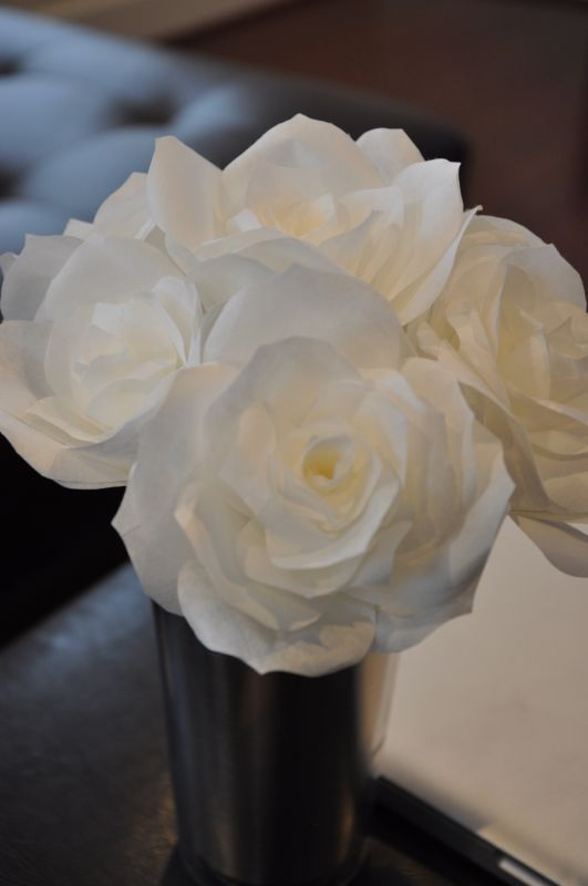 Found on weddingbee share your inspiration today coffee filter found on weddingbee share your inspiration today coffee filter flower mightylinksfo