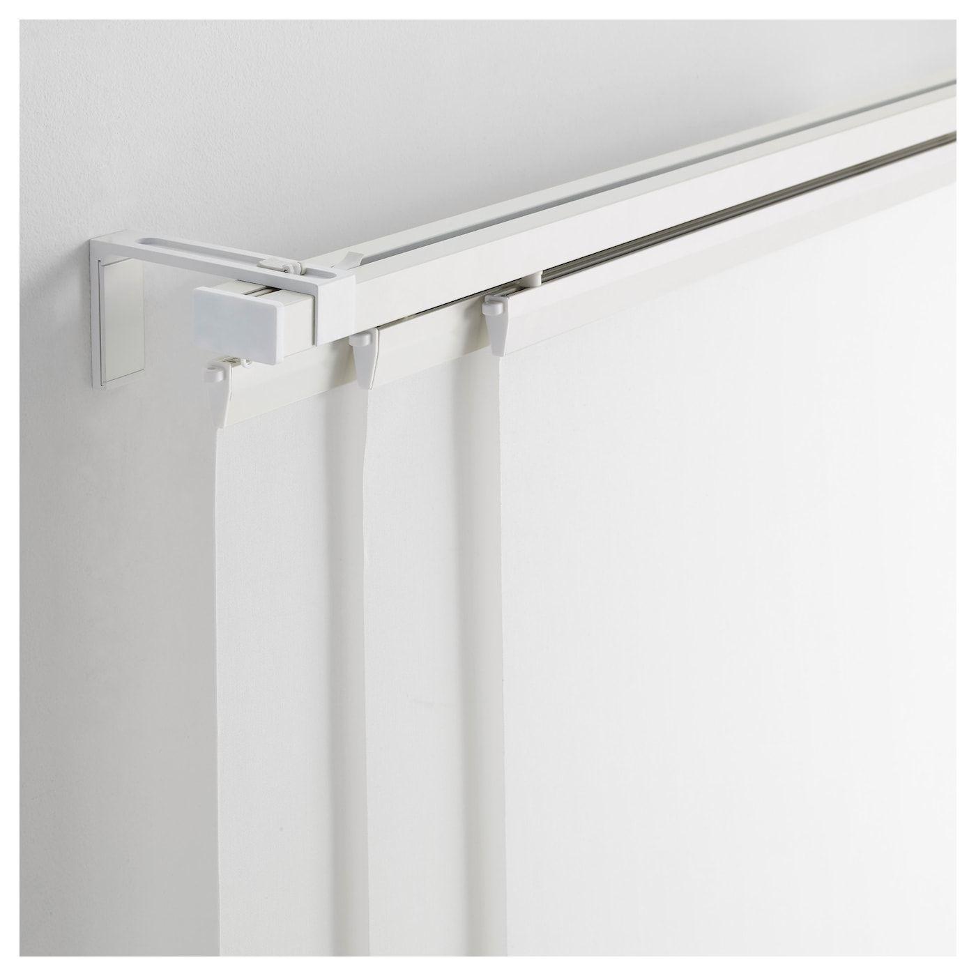 Vidga Triple Curtain Rail White 55 Curtain Rails Cool