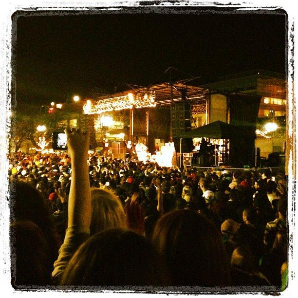 @tryjohnny   #macmiller in #Ogden #Utah Ogden city concert in the park