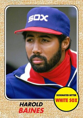 2017 Topps Heritage Design Harold Baines Sports Mlb