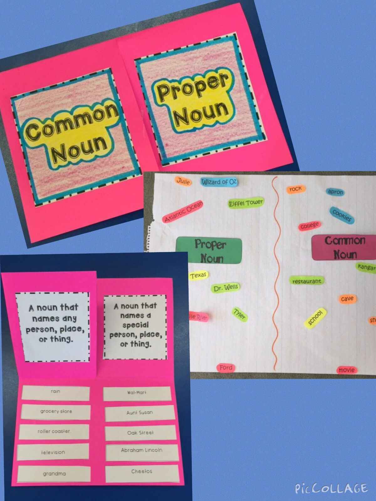 Common Amp Proper Noun Foldable And Activites