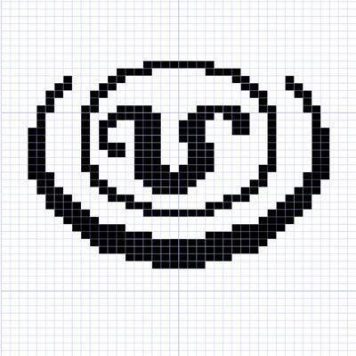 Yarn Visions: Stargate Goa\'uld Symbol Knitting Charts | Cross stitch ...
